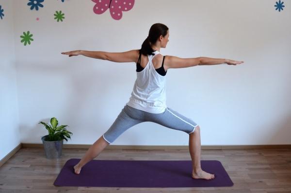 Yoga 2. Krieger